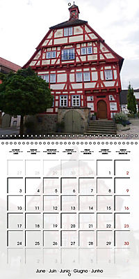 Old Town Halls in Germany (Wall Calendar 2019 300 × 300 mm Square) - Produktdetailbild 6