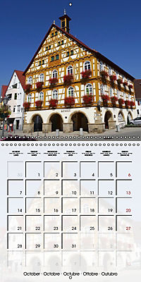 Old Town Halls in Germany (Wall Calendar 2019 300 × 300 mm Square) - Produktdetailbild 10