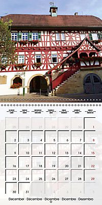 Old Town Halls in Germany (Wall Calendar 2019 300 × 300 mm Square) - Produktdetailbild 12
