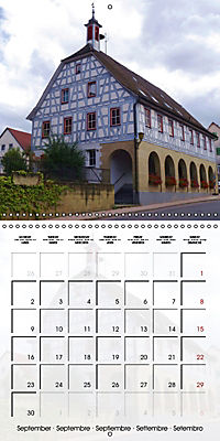 Old Town Halls in Germany (Wall Calendar 2019 300 × 300 mm Square) - Produktdetailbild 9