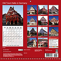 Old Town Halls in Germany (Wall Calendar 2019 300 × 300 mm Square) - Produktdetailbild 13