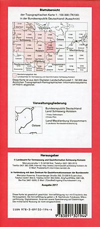 Oldenburg in Holstein 1 : 100 000 - Produktdetailbild 1
