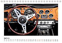 Oldtimer - Cockpits vergangener Zeiten (Tischkalender 2019 DIN A5 quer) - Produktdetailbild 4