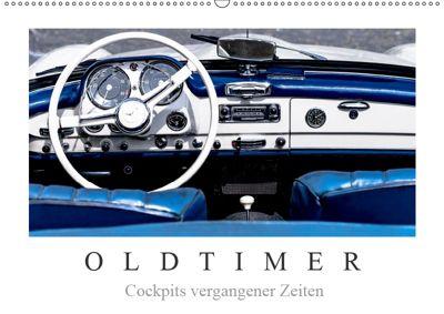 Oldtimer - Cockpits vergangener Zeiten (Wandkalender 2019 DIN A2 quer), Dieter Meyer