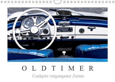 Oldtimer - Cockpits vergangener Zeiten (Wandkalender 2019 DIN A4 quer), Dieter Meyer