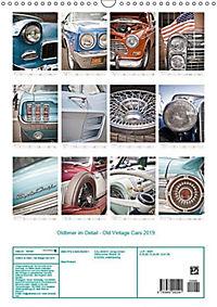 Oldtimer im Detail - Old Vintage Cars 2019 (Wandkalender 2019 DIN A3 hoch) - Produktdetailbild 13