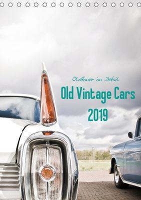 Oldtimer im Detail - Old Vintage Cars 2019 (Tischkalender 2019 DIN A5 hoch), Stela-Photoart