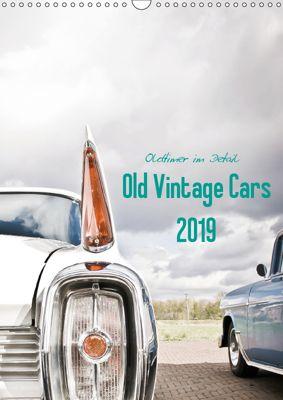 Oldtimer im Detail - Old Vintage Cars 2019 (Wandkalender 2019 DIN A3 hoch), Stela-Photoart