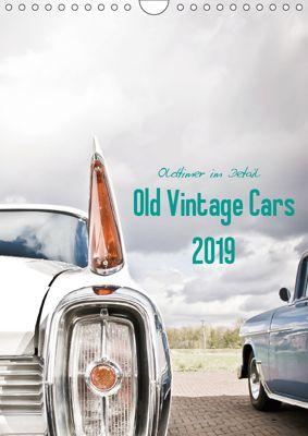 Oldtimer im Detail - Old Vintage Cars 2019 (Wandkalender 2019 DIN A4 hoch), Stela-Photoart