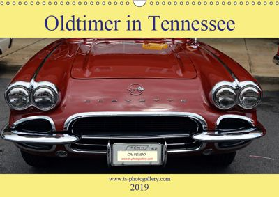 Oldtimer in Tennessee (Wandkalender 2019 DIN A3 quer), Thomas Schroeder