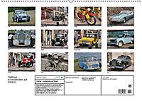 Oldtimer - Kostbarkeiten auf Rädern (Wandkalender 2019 DIN A2 quer) - Produktdetailbild 13