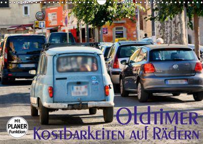 Oldtimer - Kostbarkeiten auf Rädern (Wandkalender 2019 DIN A3 quer), Thomas Bartruff