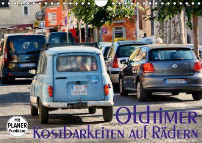 Oldtimer - Kostbarkeiten auf Rädern (Wandkalender 2019 DIN A4 quer), Thomas Bartruff