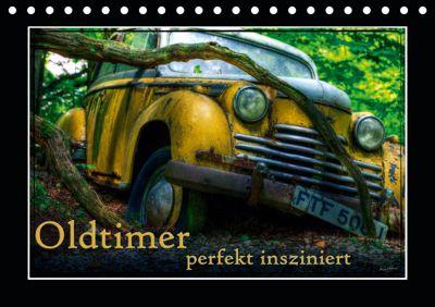 Oldtimer perfekt insziniert (Tischkalender 2019 DIN A5 quer), Heribert Adams