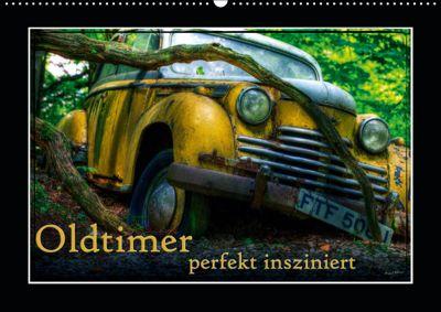 Oldtimer perfekt insziniert (Wandkalender 2019 DIN A2 quer), Heribert Adams
