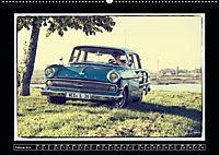 Oldtimer perfekt insziniert (Wandkalender 2019 DIN A2 quer) - Produktdetailbild 2