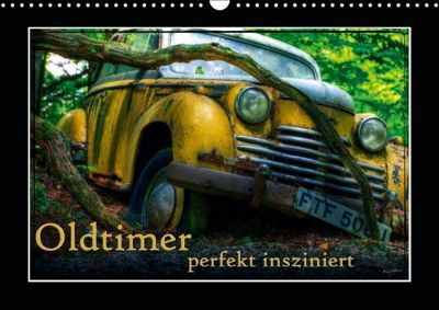 Oldtimer perfekt insziniert (Wandkalender 2019 DIN A3 quer), Heribert Adams