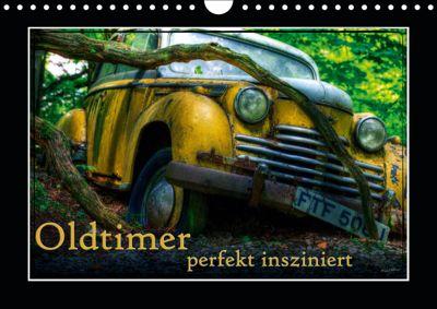 Oldtimer perfekt insziniert (Wandkalender 2019 DIN A4 quer), Heribert Adams
