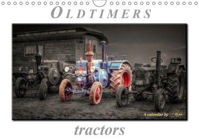 Oldtimer - tractors (Wall Calendar 2019 DIN A4 Landscape), Peter Roder