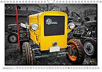 Oldtimer - tractors (Wall Calendar 2019 DIN A4 Landscape) - Produktdetailbild 1