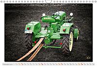 Oldtimer - tractors (Wall Calendar 2019 DIN A4 Landscape) - Produktdetailbild 2