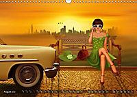 Oldtimer und Pin-Up Girls by Mausopardia (Wandkalender 2019 DIN A3 quer) - Produktdetailbild 6