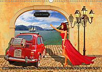 Oldtimer und Pin-Up Girls by Mausopardia (Wandkalender 2019 DIN A3 quer) - Produktdetailbild 5