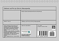Oldtimer und Pin-Up Girls by Mausopardia (Tischkalender 2019 DIN A5 quer) - Produktdetailbild 4