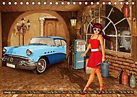 Oldtimer und Pin-Up Girls by Mausopardia (Tischkalender 2019 DIN A5 quer) - Produktdetailbild 6