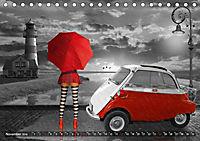 Oldtimer und Pin-Up Girls by Mausopardia (Tischkalender 2019 DIN A5 quer) - Produktdetailbild 7