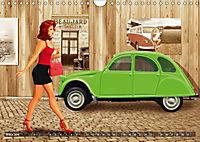 Oldtimer und Pin-Up Girls by Mausopardia (Wandkalender 2019 DIN A4 quer) - Produktdetailbild 3
