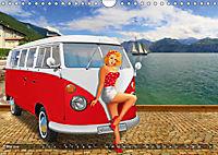 Oldtimer und Pin-Up Girls by Mausopardia (Wandkalender 2019 DIN A4 quer) - Produktdetailbild 5