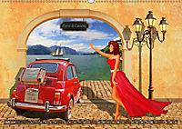 Oldtimer und Pin-Up Girls by Mausopardia (Wandkalender 2019 DIN A2 quer) - Produktdetailbild 7
