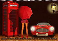 Oldtimer und Pin-Up Girls by Mausopardia (Wandkalender 2019 DIN A2 quer) - Produktdetailbild 2