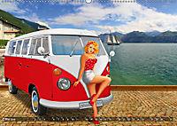 Oldtimer und Pin-Up Girls by Mausopardia (Wandkalender 2019 DIN A2 quer) - Produktdetailbild 5