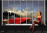 Oldtimer und Pin-Up Girls by Mausopardia (Wandkalender 2019 DIN A2 quer) - Produktdetailbild 4