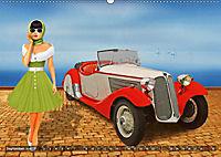 Oldtimer und Pin-Up Girls by Mausopardia (Wandkalender 2019 DIN A2 quer) - Produktdetailbild 9