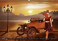 Oldtimer und Pin-Up Girls by Mausopardia (Wandkalender 2019 DIN A2 quer) - Produktdetailbild 10