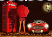 Oldtimer und Pin-Up Girls by Mausopardia (Wandkalender 2019 DIN A3 quer) - Produktdetailbild 2