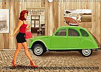 Oldtimer und Pin-Up Girls by Mausopardia (Wandkalender 2019 DIN A3 quer) - Produktdetailbild 3