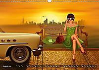 Oldtimer und Pin-Up Girls by Mausopardia (Wandkalender 2019 DIN A3 quer) - Produktdetailbild 8