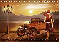 Oldtimer und Pin-Up Girls by Mausopardia (Tischkalender 2019 DIN A5 quer) - Produktdetailbild 10