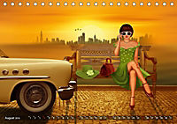 Oldtimer und Pin-Up Girls by Mausopardia (Tischkalender 2019 DIN A5 quer) - Produktdetailbild 8