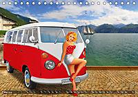 Oldtimer und Pin-Up Girls by Mausopardia (Tischkalender 2019 DIN A5 quer) - Produktdetailbild 5