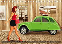 Oldtimer und Pin-Up Girls by Mausopardia (Tischkalender 2019 DIN A5 quer) - Produktdetailbild 3