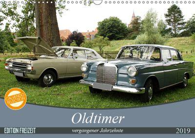 Oldtimer vergangenger Jahrzehnte (Wandkalender 2019 DIN A3 quer), Anja Bagunk