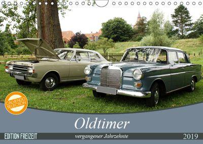 Oldtimer vergangenger Jahrzehnte (Wandkalender 2019 DIN A4 quer), Anja Bagunk
