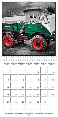 Oldtimers - tractors and trucks (Wall Calendar 2019 300 × 300 mm Square) - Produktdetailbild 11