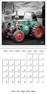 Oldtimers - tractors and trucks (Wall Calendar 2019 300 × 300 mm Square) - Produktdetailbild 3