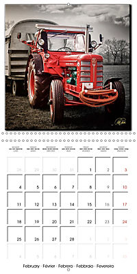 Oldtimers - tractors and trucks (Wall Calendar 2019 300 × 300 mm Square) - Produktdetailbild 2
